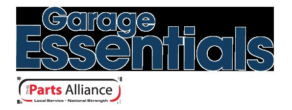 Parts Alliance Garage Essentials logo