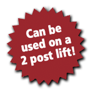 Can be used on a 2 Post Lift