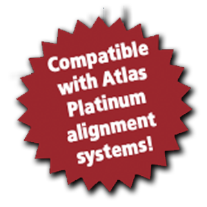 Compatible with Atlas Platinum alignment systems!